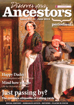 Discover Your Ancestors Periodical - June 2014