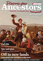 Discover Your Ancestors Periodical - October 2014