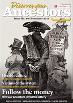 Discover Your Ancestors Periodical - November 2014