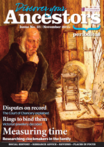 Discover Your Ancestors Periodical - November 2015