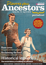 Discover Your Ancestors Periodical - April 2019