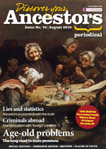 Discover Your Ancestors Periodical - August 2019
