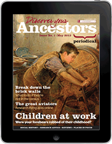 Free 12 Month subcription to Discover Your Ancestors Online Magazine