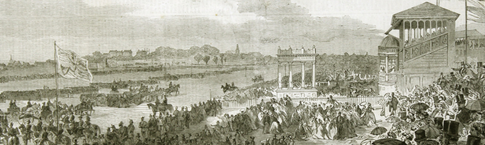 York racecourse image from 1866