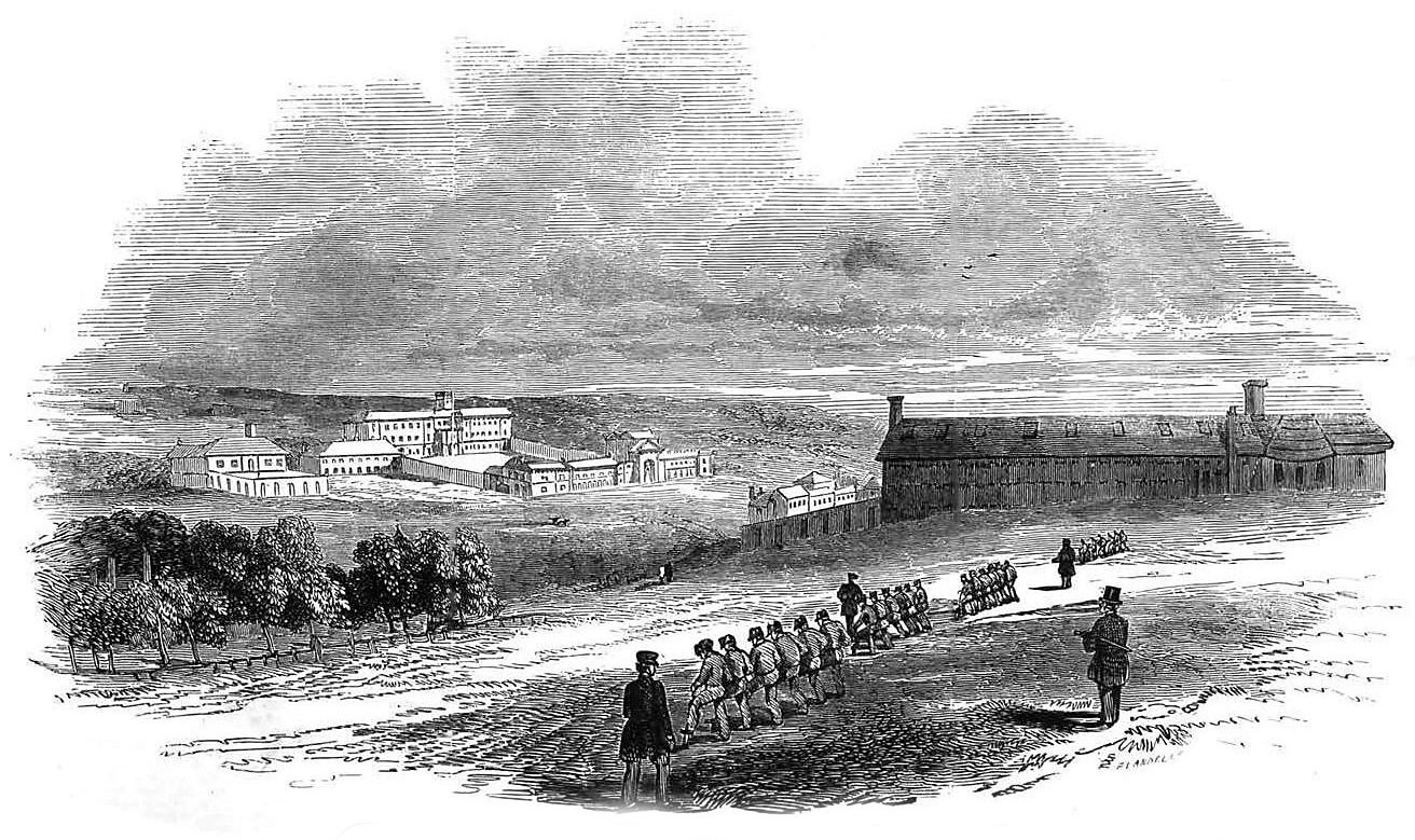 Parkhurst Prison, from The Illustrated London News