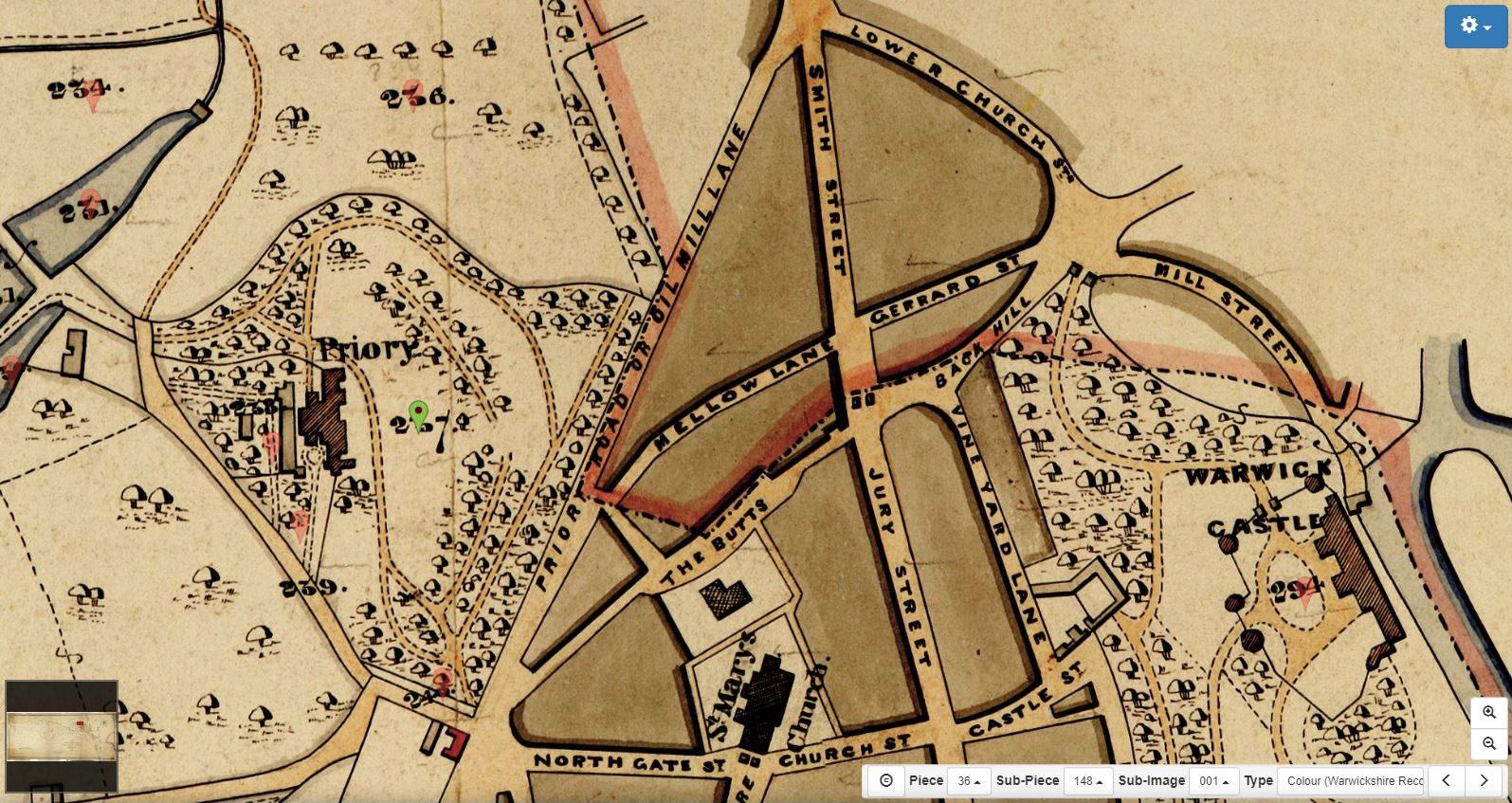 Tithe Map