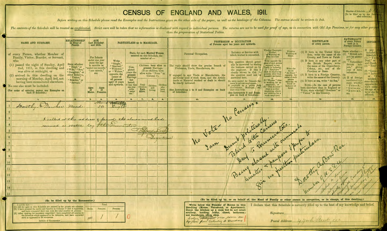 free access to 1911 census across england and wales