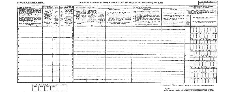 1921 UK Census Substitute Collection: TheGenealogist