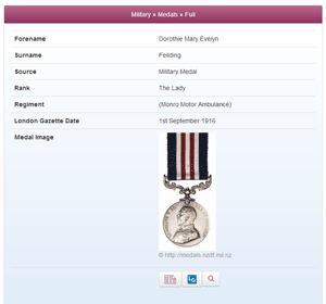 Military Medals available at TheGenealogist.co.uk