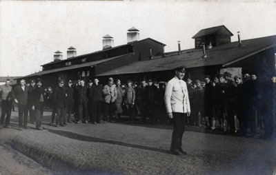 WW1 Cotbus POW Camp